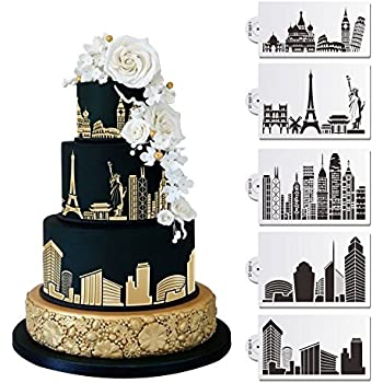 london wedding cake suppliers designer stencils c757 new york skyline cake 16931