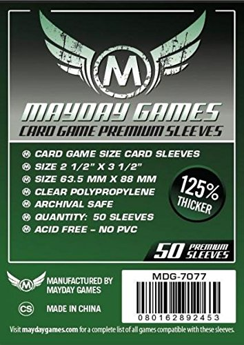 Mayday Card Game Premium Sleeves [10 packs]