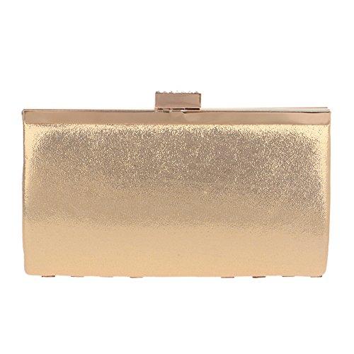 Diamond Crystal Clutches Girls Handbags Square Rhinestone Purses Gold Shape Evening Bags Womens and axEq8Iw11