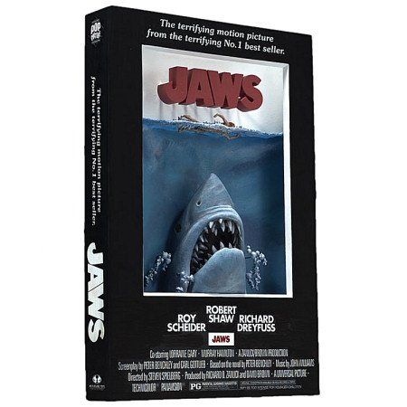 McFarlane Toys 3D Movie Poster - JAWS