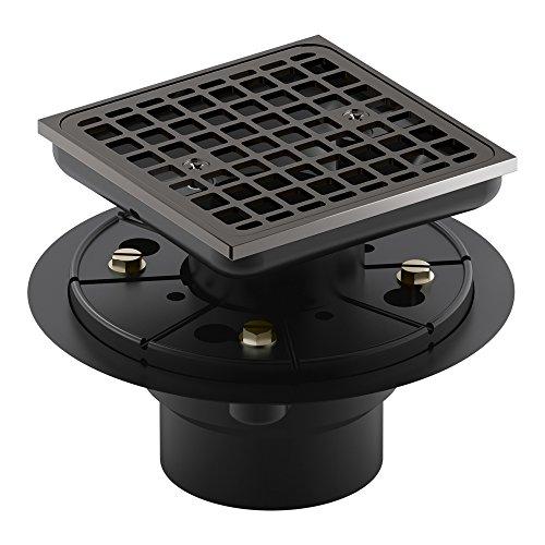 KOHLER 9136-TT Square design tile-in shower drain Titanium