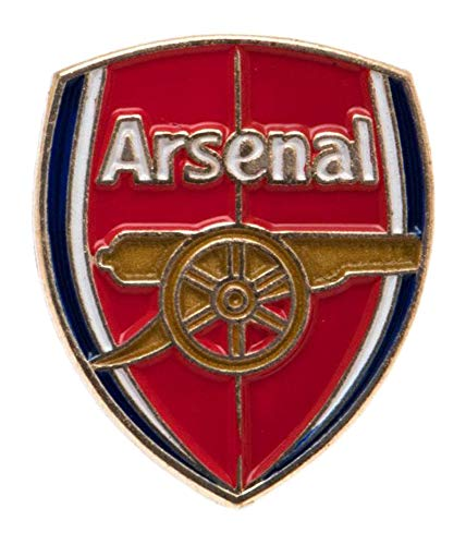 Crest Pin Badge - Arsenal Unisex New Crest Pin Badge, Multi-colour