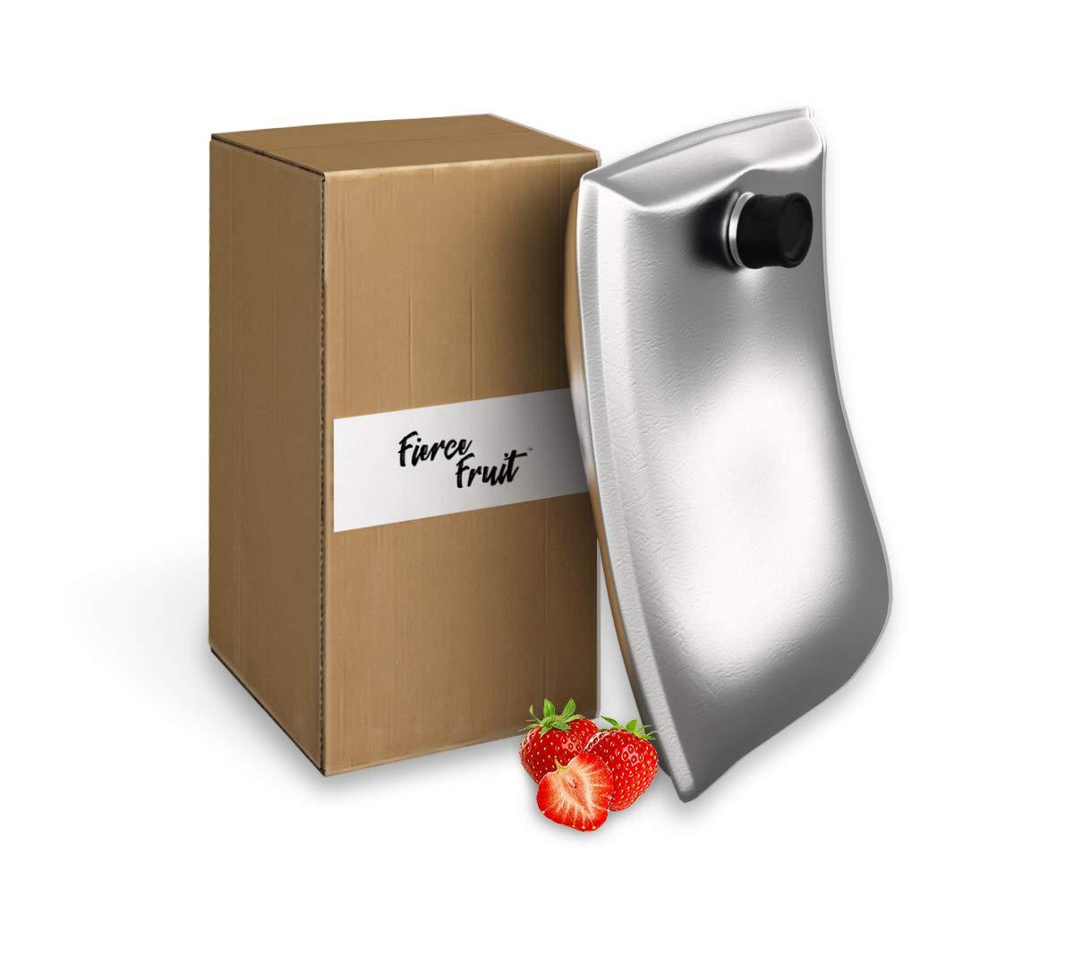 Fierce Fruit- All Natural Premium Fruit Puree-(Strawberry) 11 LB (Strawberry)