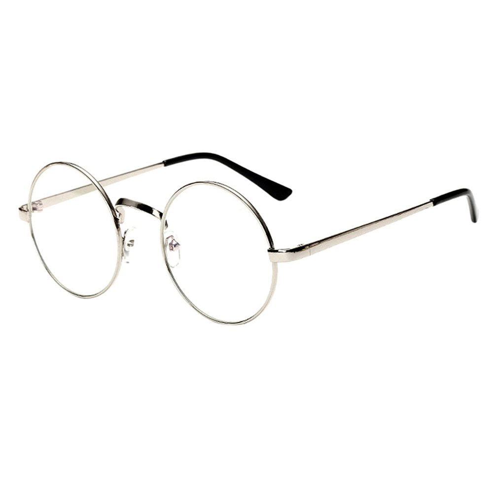 a0c60f7dd99 Amazon.com  Scorpiuse Aviator Glasses Clear Lens Retro Metal Frame  Eyeglasses (Gold