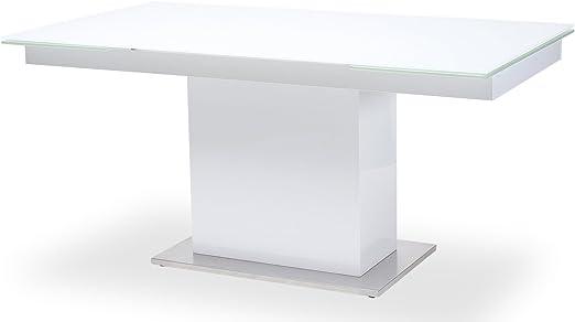 Esstisch Sever V Tisch Esszimmertisch Säulentisch Glastisch