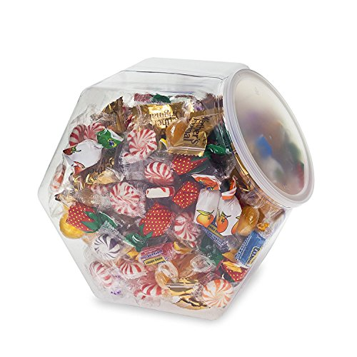 Source One LLC Premium Clear Candy Food Storage Bins with Lids (1 Pack)