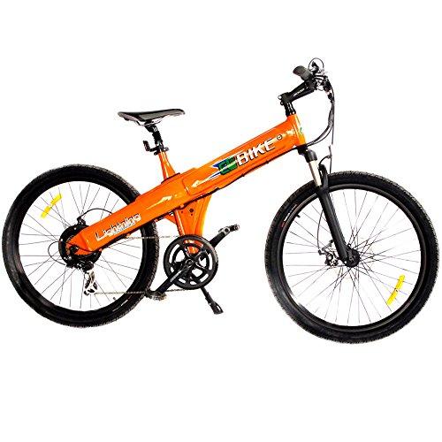 """E-go 26"""", 500W, In-Frame Battery, Orange"""