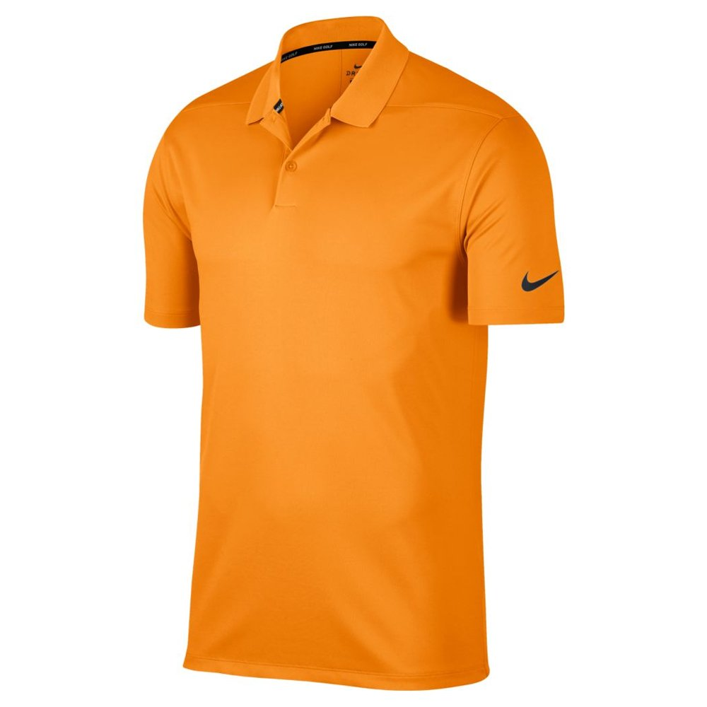Nike Men's Dry Victory Solid Golf Polo (Bright Ceramic/Black, Small)