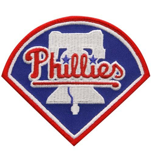 (MLB Philadelphia Phillies Embroidered Team Logo Collectible Patch)
