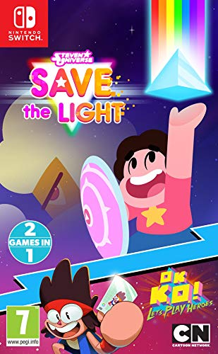 Steven Universe Save The Light And OK K.O.! Lets Play Heroes (Nintendo Switch) (Steven Universe Save The Light Nintendo Switch)
