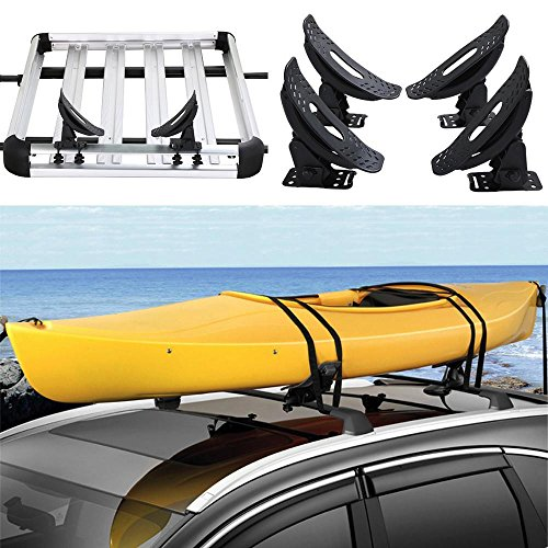 go2buy Kayak Carrier Roof Rack Canoe Boat Surf Ski Roof Top