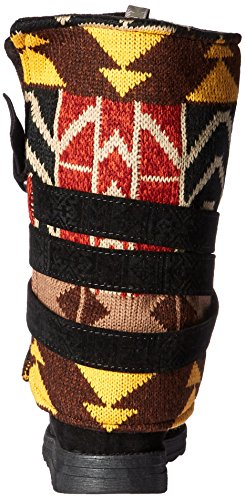 Muk Luks Mujeres Nikki Belt Wrapped Bota Black