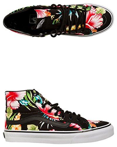 Vans SK8 Hi Slim Black Hawaiian Floral