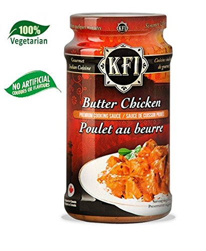 c60c0e492137 Butter Chicken Indian Cooking Sauce - Premium Quality 100% Vegetarian - No  Artificial Flavours
