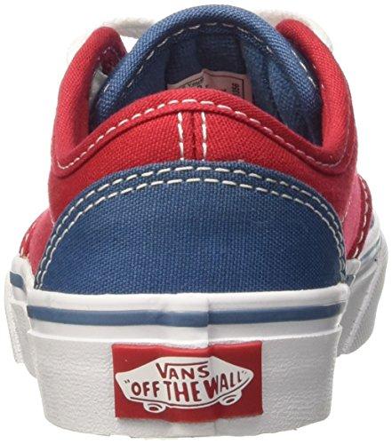 2 Red Tone Atwood Garçon Baskets Vans Blue Multicolore Basses 7XP0w