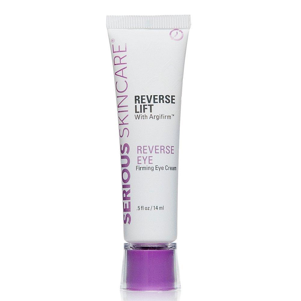 Serious Skincare Reverse Lift with Argifirm Reverse Eye Firming Eye Cream 0.50 Fl Oz.