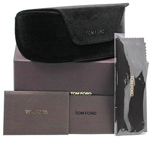 New Original Tom Ford Sunglasses Eyeglasses Case (Extra Large, Dark Brown Velvet)