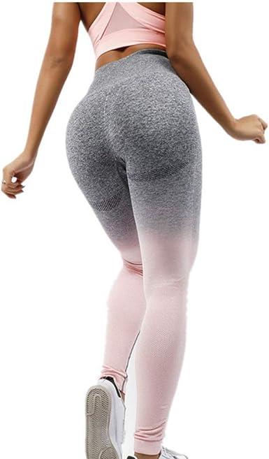Baywell Pantalon Fitness para Mujer Leggings Deportivos para ...
