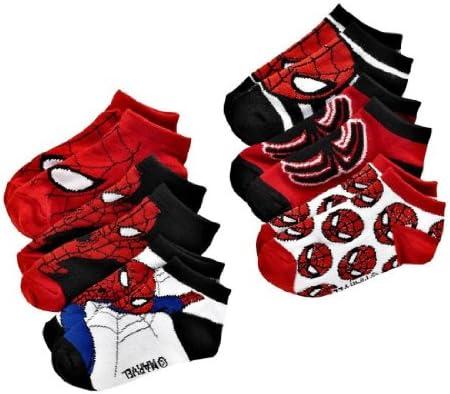 Marvel Ultimate Spider-Man Boy/'s Toddler Socks 3 Pair Set Size 2T-4T NWT