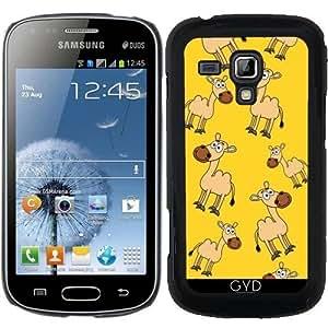 Funda para Samsung Galaxy Trend S7560 - Camellos Sonriendo by zorg