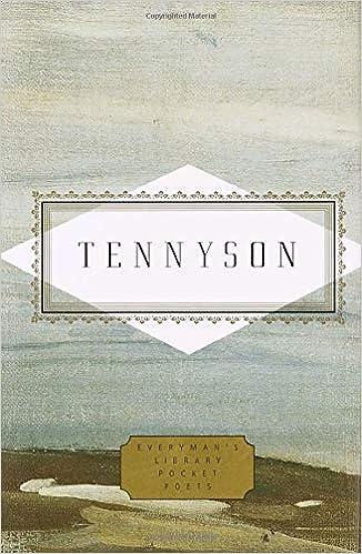 Tennyson Poems Everymans Library Pocket Poets Amazones