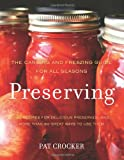 Preserving, Pat Crocker, 0062191446