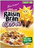 Raisin Bran Cereal, Extra!, 15-Ounce Boxes (Pack of 3)