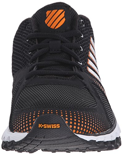 K-Swiss Herren X-160 CMF Trainingsschuh Schwarz / Orange Popsicle