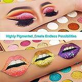 Eyeshadow Neon Glitter Makeup Palettes+Primer