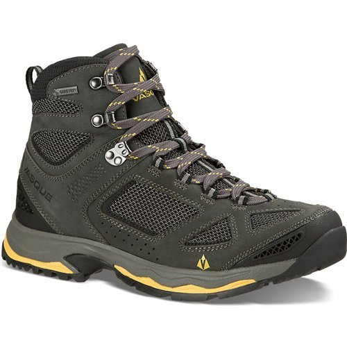 (Vasque Men's Breeze III GTX Waterproof Hiking Boots (Magent/Yellow, 10.5 M US))