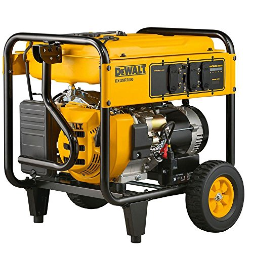 Portable Generator: DEWALT Generators 7,000-Watt Gasoline Powered Electric Start