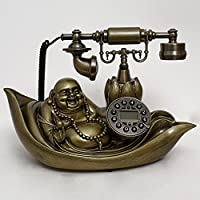 Pierre retro fashion and creative high-end Continental antique telephone landline telephone Caller household gifts , C