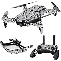 MightySkins Skin for DJI Mavic Air Drone - Laughing Skulls | Max Combo Protective, Durable, and Unique Vinyl Decal wrap cover | Easy To Apply, Remove, and Change Styles | Made in the USA