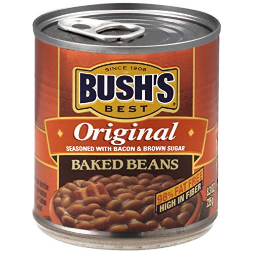 BUSH'S BEST Original Baked Beans , 8.3 Ounce Can (Pack of 12)