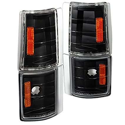 Spec-D Tuning 2LC-G2G4JM-V2-TM Gmc Sierra/Suburban/Yukon/ C10 Corner Lights  Black