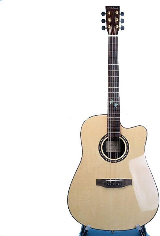 Guitarra de un solo tablero 41 pulgadas de madera de color rosa ...