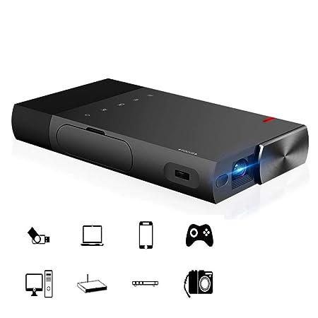 Z@SS Mini proyector portátil, Cine en casa Soporte para proyector ...