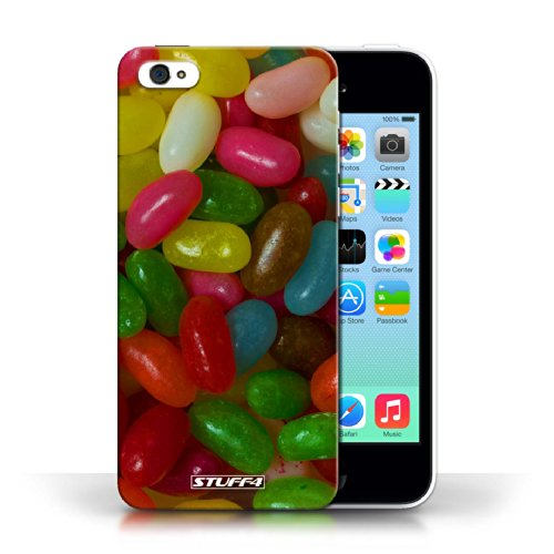 Etui pour Apple iPhone 5C / Jelly Beans conception / Collection de Bonbons