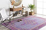 Surya Zahra ZHA-4001 Hand Knotted Classic Accent Rug, 2 by 3-Feet