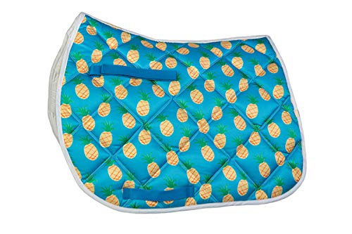 Lettia A/P Saddle Pad Pineapple