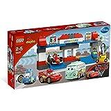 LEGO DUPLO Cars - 5829 - Jeu de Construction - Le Pit Stop