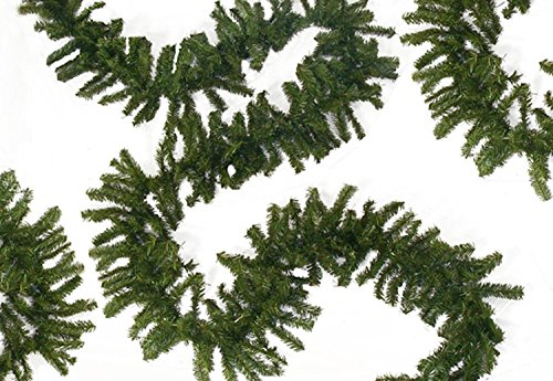 Darice 100' X 12'' Commercial Length Canadian Pine Artificial Christmas Garland - Unlit by Darice (Image #1)
