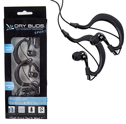 DryCASE DryBUDS Fusion Waterproof Earbuds with Microphone (DB-26) by Dry CASE