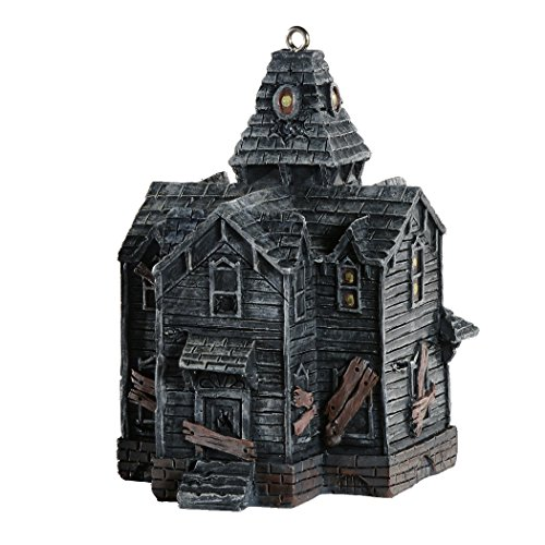 Haunted House Horror Ornament - Scary Prop and Decoration for Halloween, Christmas, Parties and Events - Michael Berryman Series - By HorrorNaments -