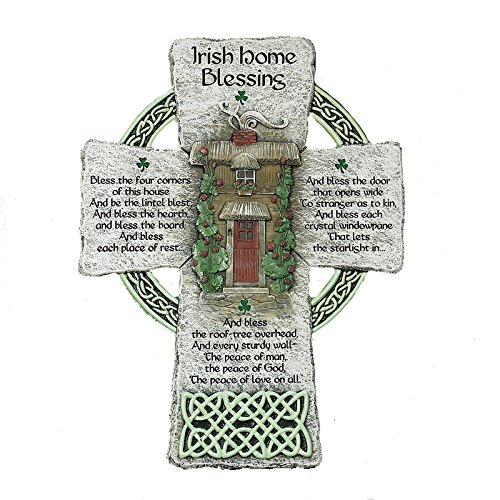 (Abbey Gift Irish Home Blessing Cross )