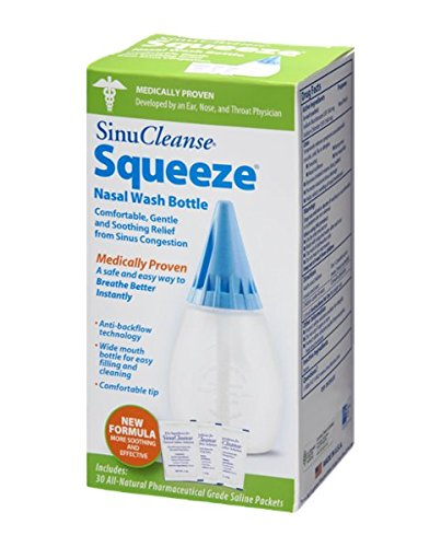 Sinu Cleanse Squeeze Nasal Wash Bottle Size: KIT