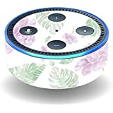 MightySkins Protective Vinyl Skin Decal for Amazon Echo Dot (2nd Generation) wrap Cover Sticker Skins Watercolor Flowers