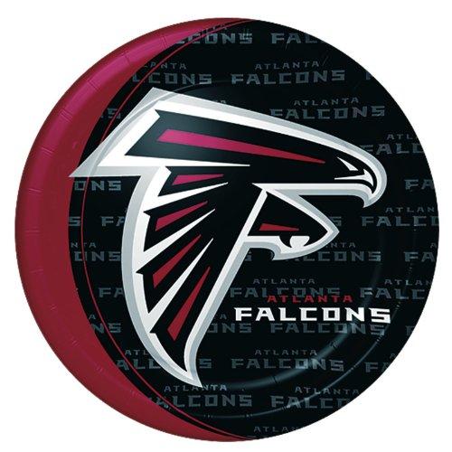 Atlanta Falcons Birthday Party Dinner Plates