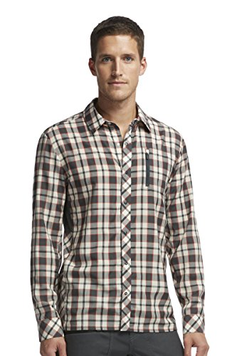 Icebreaker Men's CompaShort Sleeve Long Sleeve Shirt, X-Large, Monsoon