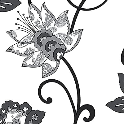 Large Scale Contemporary Floral - BW28718